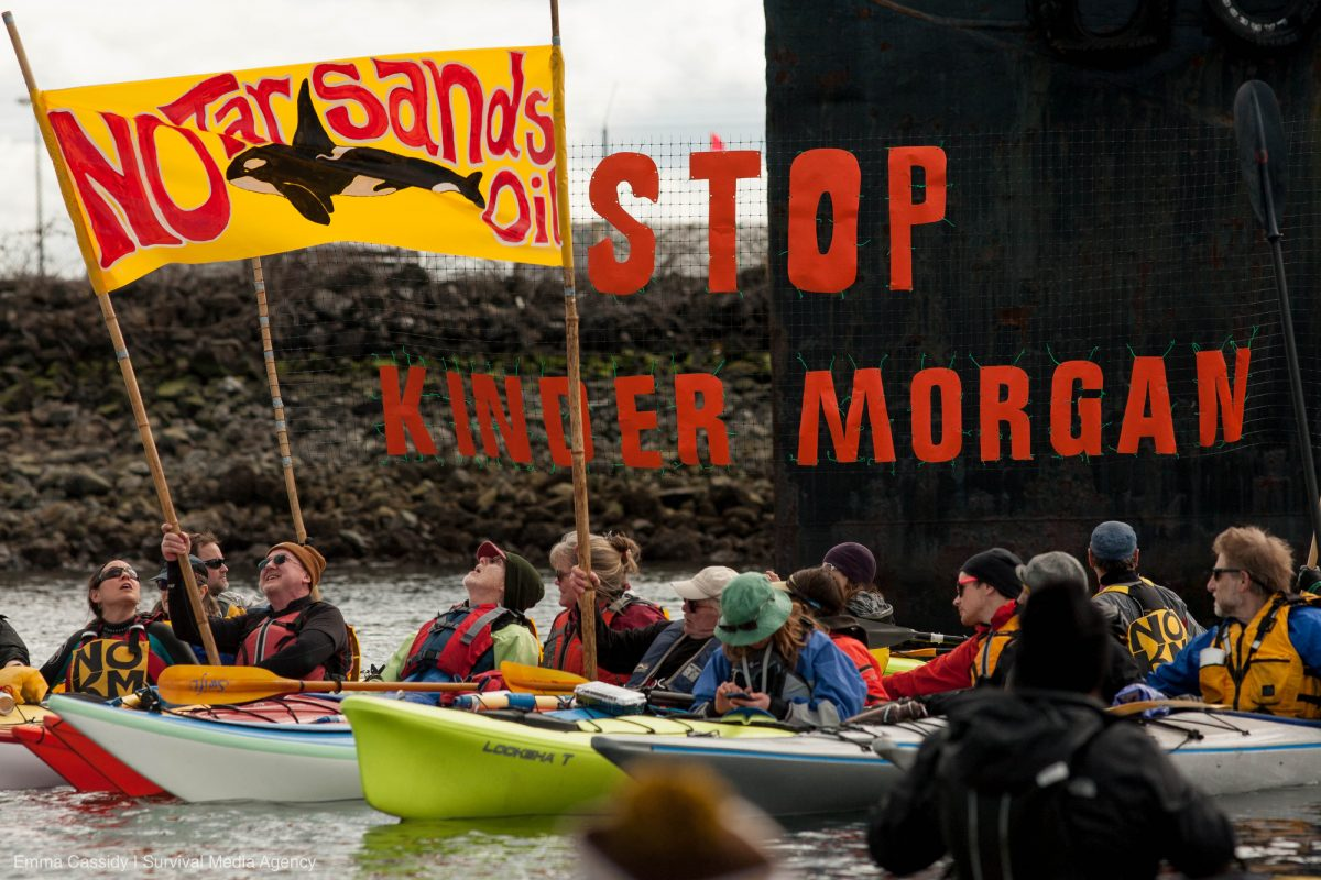 Mosquito Fleet Stop KM Action March 18, 2018 Photo by Emma Cassidy   Survival Media Agency